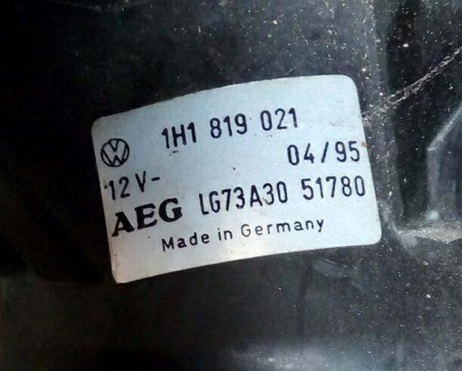 Моторчик печки Volkswagen Golf 3 1H1819021 - купить в Минске