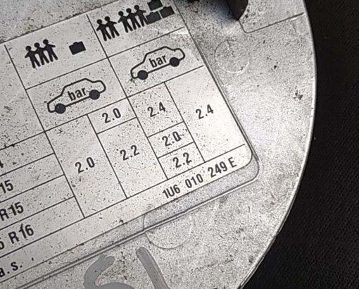 Лючок бензобака Skoda Octavia A4 1U6010249E - купить в Минске