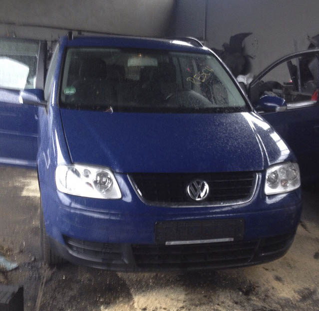 Volkswagen Touran 2005 года