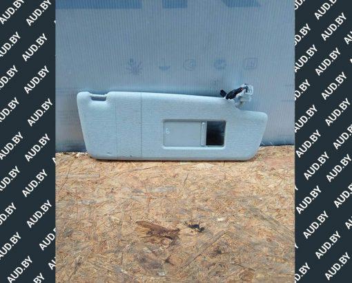 Козырек солнцезащитный правый Volkswagen Touran 2003-2010 1T0857552