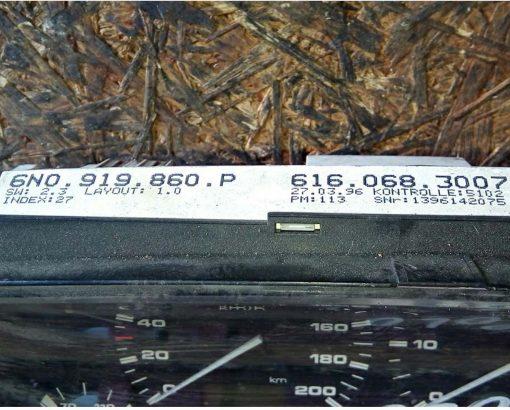 Панель приборов Фольксваген Поло 6N0919860P