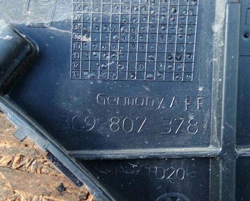 Крепление заднего бампера Фольксваген Пассат Б6 универсал правое 3C9807378 купить в Минске