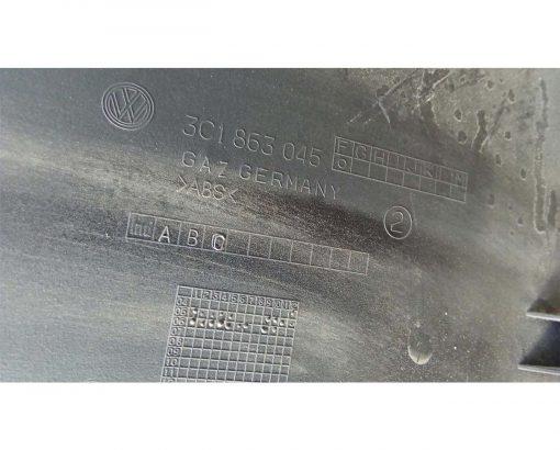 Накладка декоративная на консоль левая Фольксваген Пассат Б6 3C1863045 купить в Минске