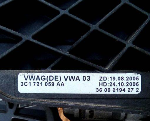Педаль сцепления 3C1721059AA - купить на разборке в Минске