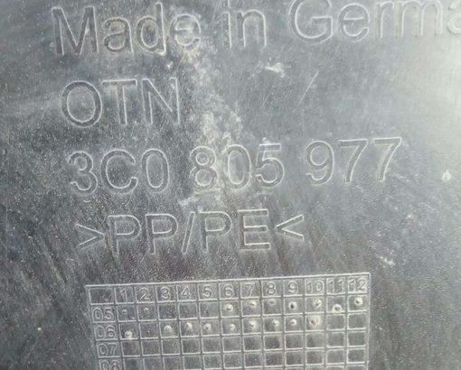 Подкрылок Фольксваген Пассат Б6 передний левый 3C0805977 - купить в Минске