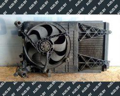 Диффузор радиатора Фольксваген Гольф 4 1J0121207L - купить в Минске