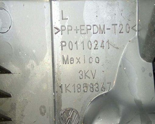 Накладка под торпеду левая с бардачком Фольксваген Гольф 5 1K1858367 купить в Минске