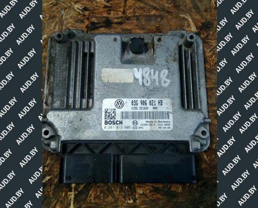 Блок управления двигателем 1.9 TDI 03G906016HB - купить в Минске