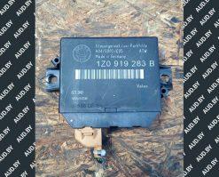 Блок управления парктроников Skoda Octavia A5 1Z0919283B - купить в Минске