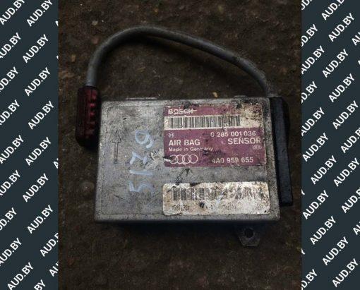 Блок управления AIRBAG Audi 80 B4 4A0959655 - купить в Минске