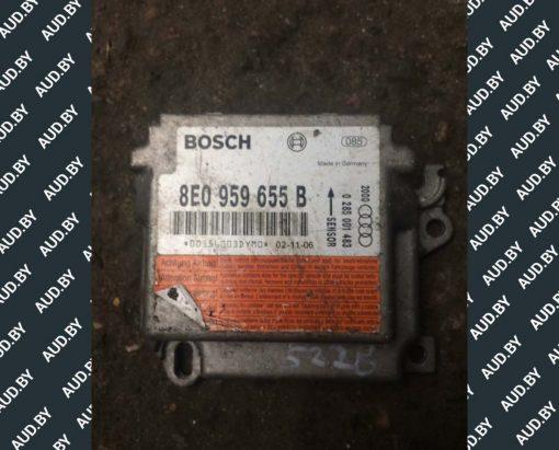 Блок управления AIRBAG Audi A4 B6 8E0959655B - купить в Минске