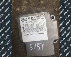 Блок управления AIRBAG Volkswagen Touran 1T0909605C - купить в Минске