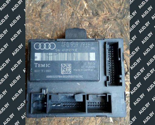 Блок управления Audi A6 C6 передней левой дверью 4F0959793E купить в Минске
