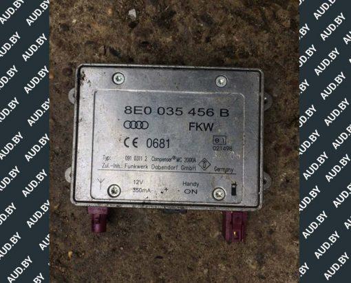 Блок управления антенной Audi A4 B6 / B7 8E0035456B - купить в Минске