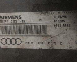 Блок управления двигателем Audi A3 1.6 06A906019D купить в Минске
