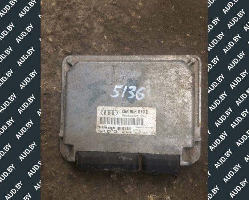 Блок управления двигателем Audi A3 1.6 06A906019E купить в Минске
