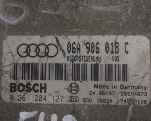 Блок управления двигателем Audi A3 1.8 06A906018C купить в Минске