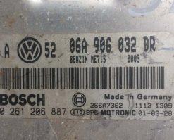 Блок управления двигателем VW Golf 4 1.8T 06A906032DR купить в Минске