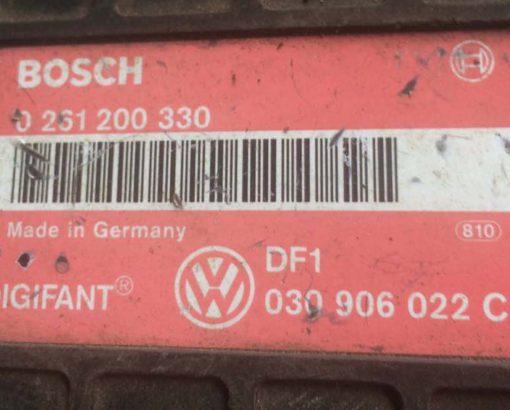 Блок управления двигателем VW Polo 030906022C - купить в Минске