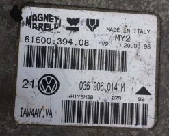 Блок управления двигателем Volkswagen Golf 4 1.4 036906014M купить в Минске
