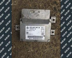 Блок управления ручником Volkswagen Passat B6 3C0907801B купить в Минске
