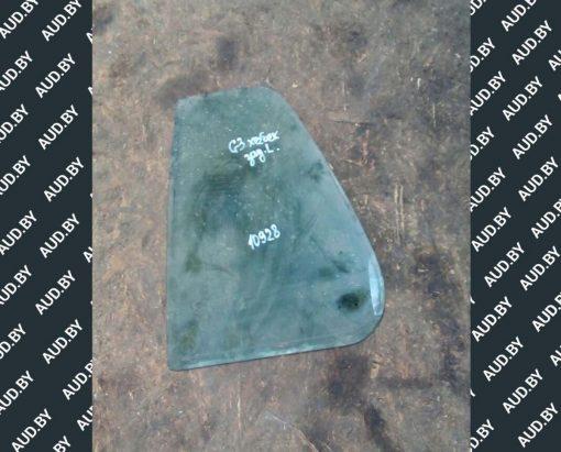 Стекло Фольксваген Гольф 3 заднее левое хетчбек неопускное AS2 - купить в Минске