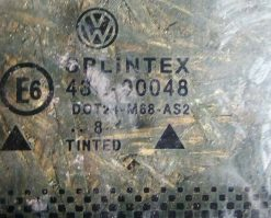 Стекло Volkswagen Passat B5 заднее правое седан неопускное 3B5845298D AS2