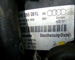 Автономный отопитель Audi A6 C6 4F0265081L - купить в Минске