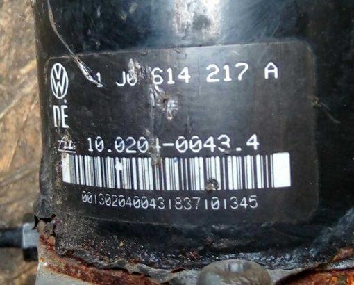 Блок ABS 1J0907379A / 1J0614217A - купить на разборке в Минске