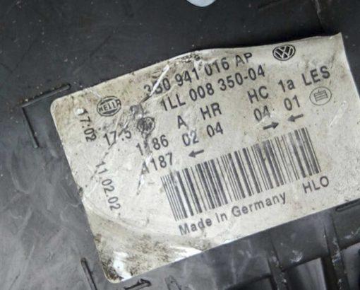 Фара Volkswagen Passat B5 GP правая 3B0941016AP - купить в Минске