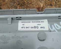 Фонарь салона (плафон) передний Audi A6 C6 4F0947135BQ - купить в Минске