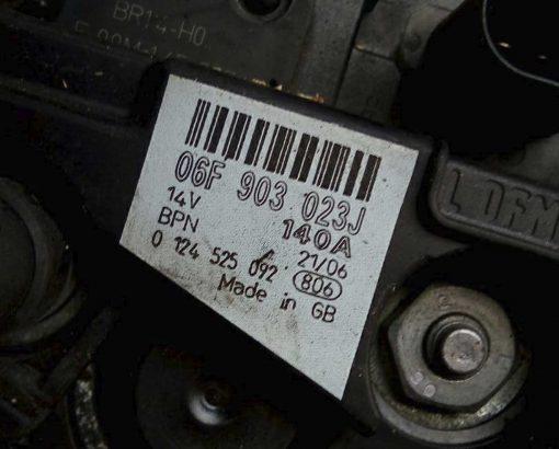 Генератор Audi A4 B7 2.0 TDI 140A 06F903023J - купить в Минске