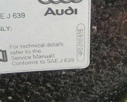 Капот Audi A6 C6 черный 4F0010515 - купить на разборке в Минске