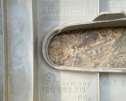 Консоль салона Volkswagen Golf 3 задняя часть 1E0863319 - купить в Минске