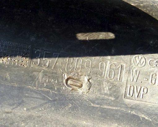 Подкрылок Фольксваген Пассат Б3 передний левый 357809961 - купить в Минске