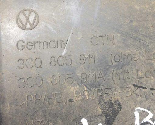 Подкрылок Volkswagen Passat B6 передний левый 3C0805911A - купить в Минске