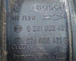 Расходомер воздуха 074906461B - купить на разборке в Минске