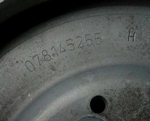 Шкив насоса ГУ 2.8 078145255H - купить на разборке в Минске