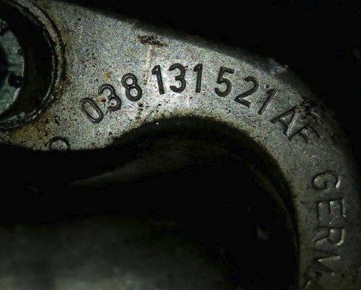 Трубка картерных газов Volkswagen Sharan 1.9 TDI 038131521AF - купить в Минске