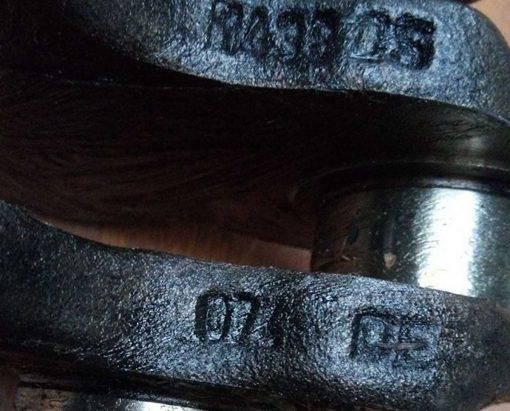 Коленвал Фольксваген Т4 2.4 D 074DE- купить на разборке в Минске