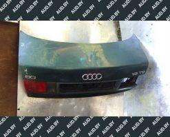 Крышка багажника Audi 80 B4 седан зеленая - купить в Минске