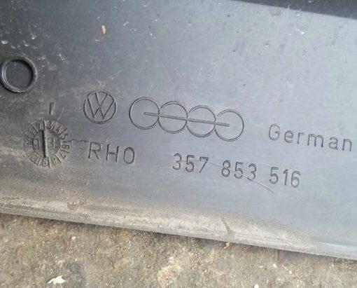 Молдинг двери Volkswagen Passat B3 передний правый 357853516 - купить в Минске