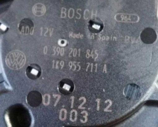 Моторчик заднего дворника Volkswagen Golf 5 универсал 1K9955711A - купить в Минске