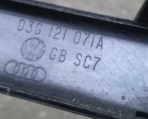 Патрубок системы охлаждения Audi A6 C6 2.0 TDI 03G121071A - купить в Минске