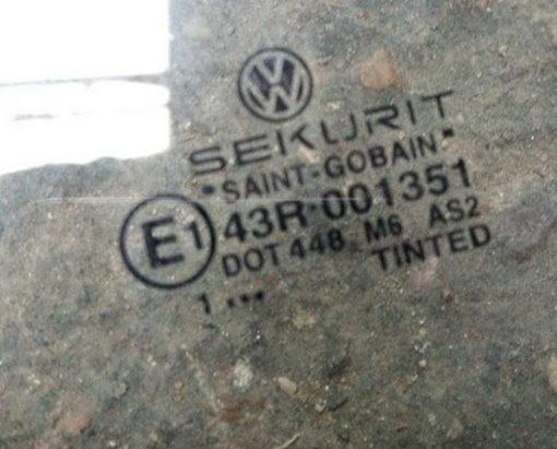 Стекло Volkswagen Golf 4 переднее правое AS2 - купить в Минске