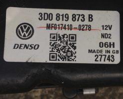 Воздуховод Volkswagen Phaeton левый 3D0819873B - купить в Минске