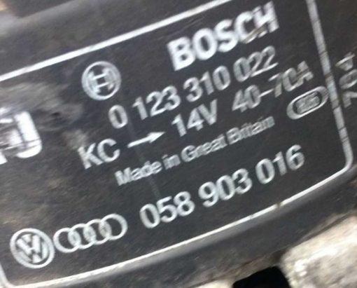 Генератор 70A 1.8 бензин 058903016 - купить на разборке в Минске