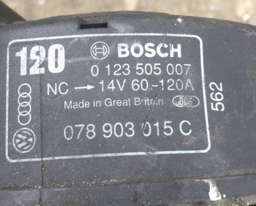 Генератор Audi, Volkswagen 120A 078903015C - купить в Минске