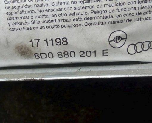 Подушка безопасности Ауди А4 Б5 пассажирская 8D0880201E - купить в Минске