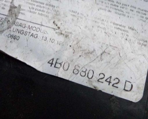 Подушка безопасности Audi A6 C5 в правое сиденье 4B0880242D - купить в Минске